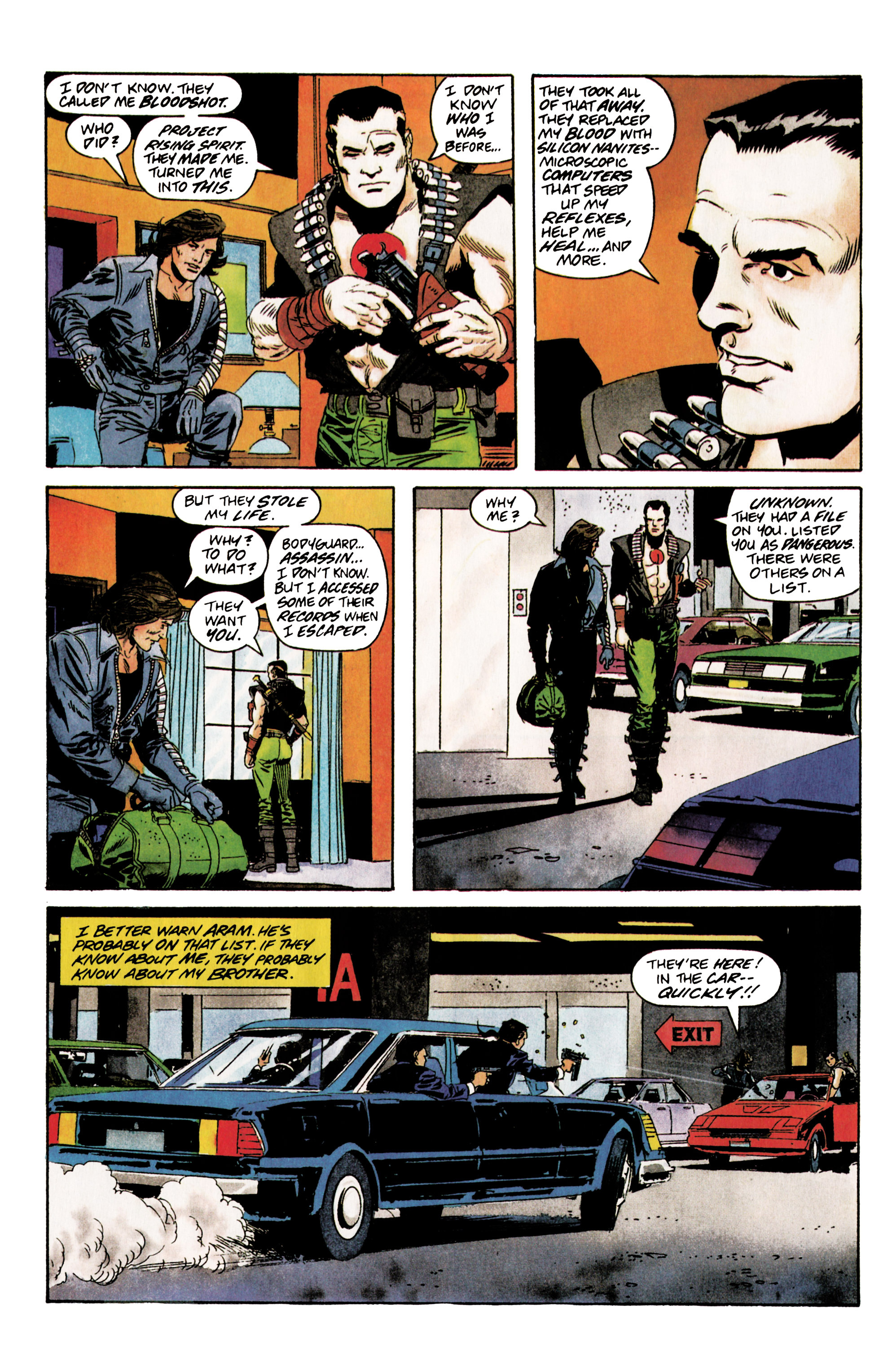 Read online Eternal Warrior (1992) comic -  Issue #5 - 7