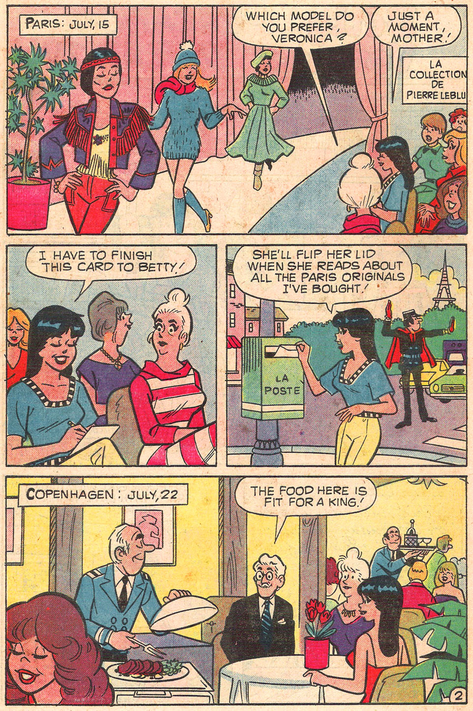 Read online Archie's Girls Betty and Veronica comic -  Issue #301 - 30