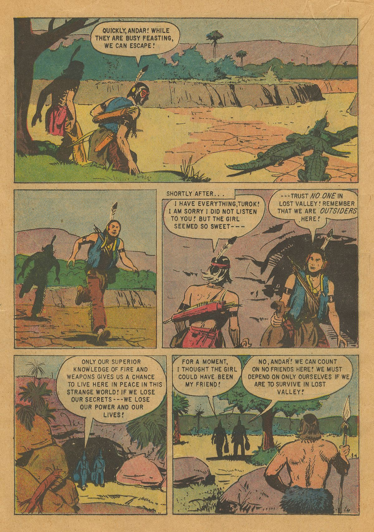 Read online Turok, Son of Stone comic -  Issue #22 - 16