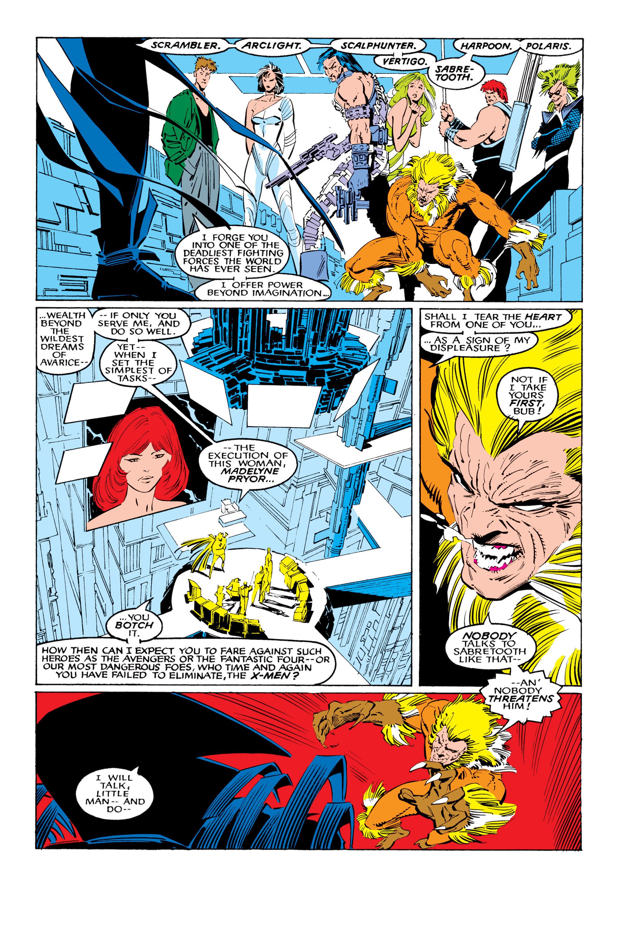 Read online Uncanny X-Men (1963) comic -  Issue #221 - 3