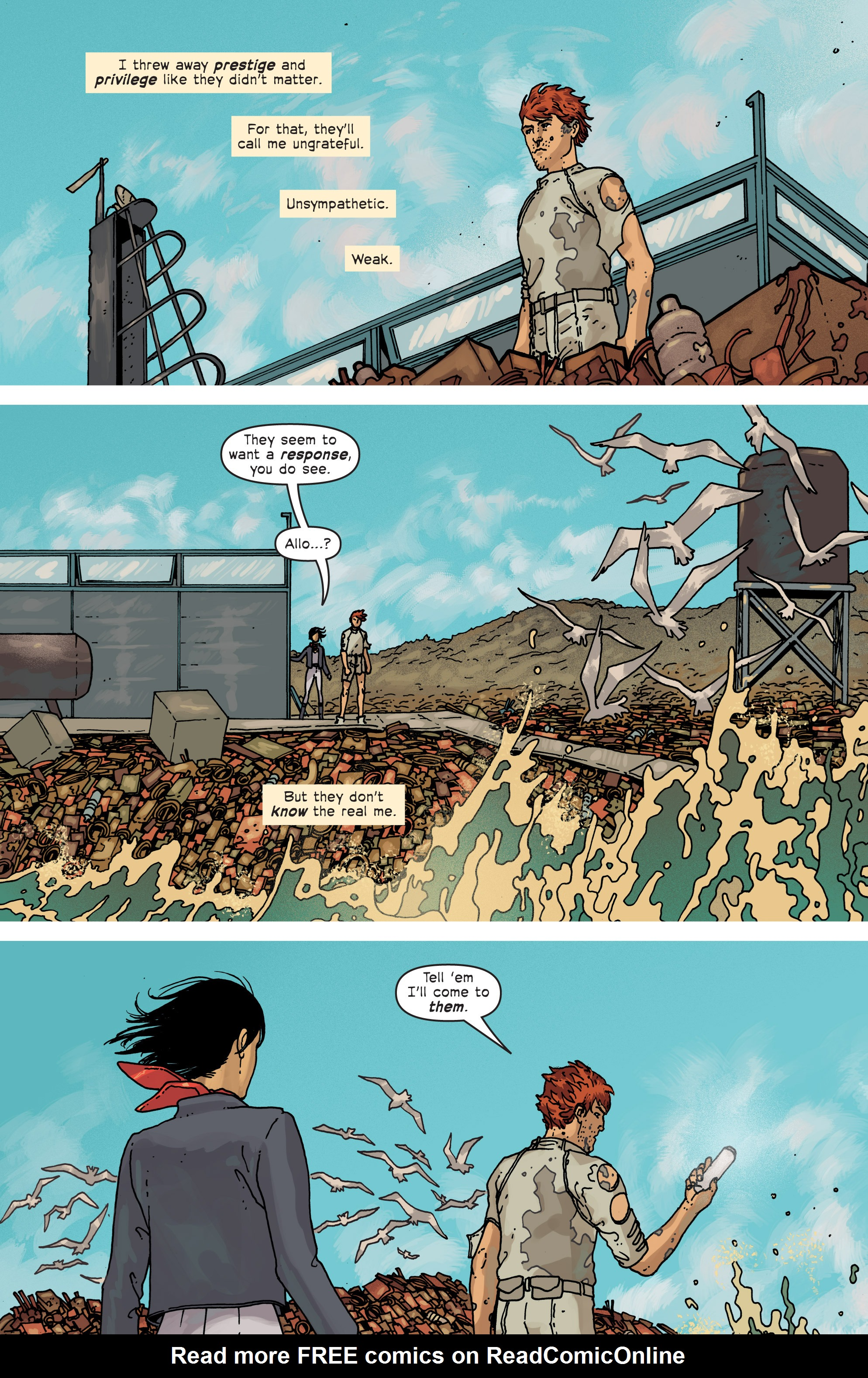 Read online Great Pacific comic -  Issue #6 - 6