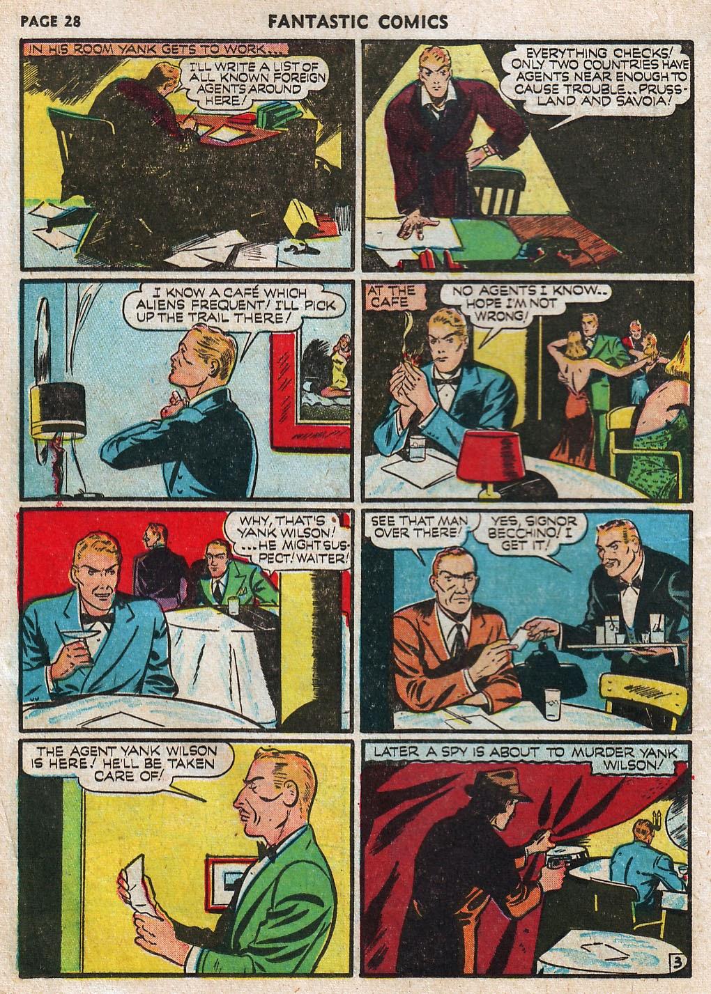 Read online Fantastic Comics comic -  Issue #17 - 30