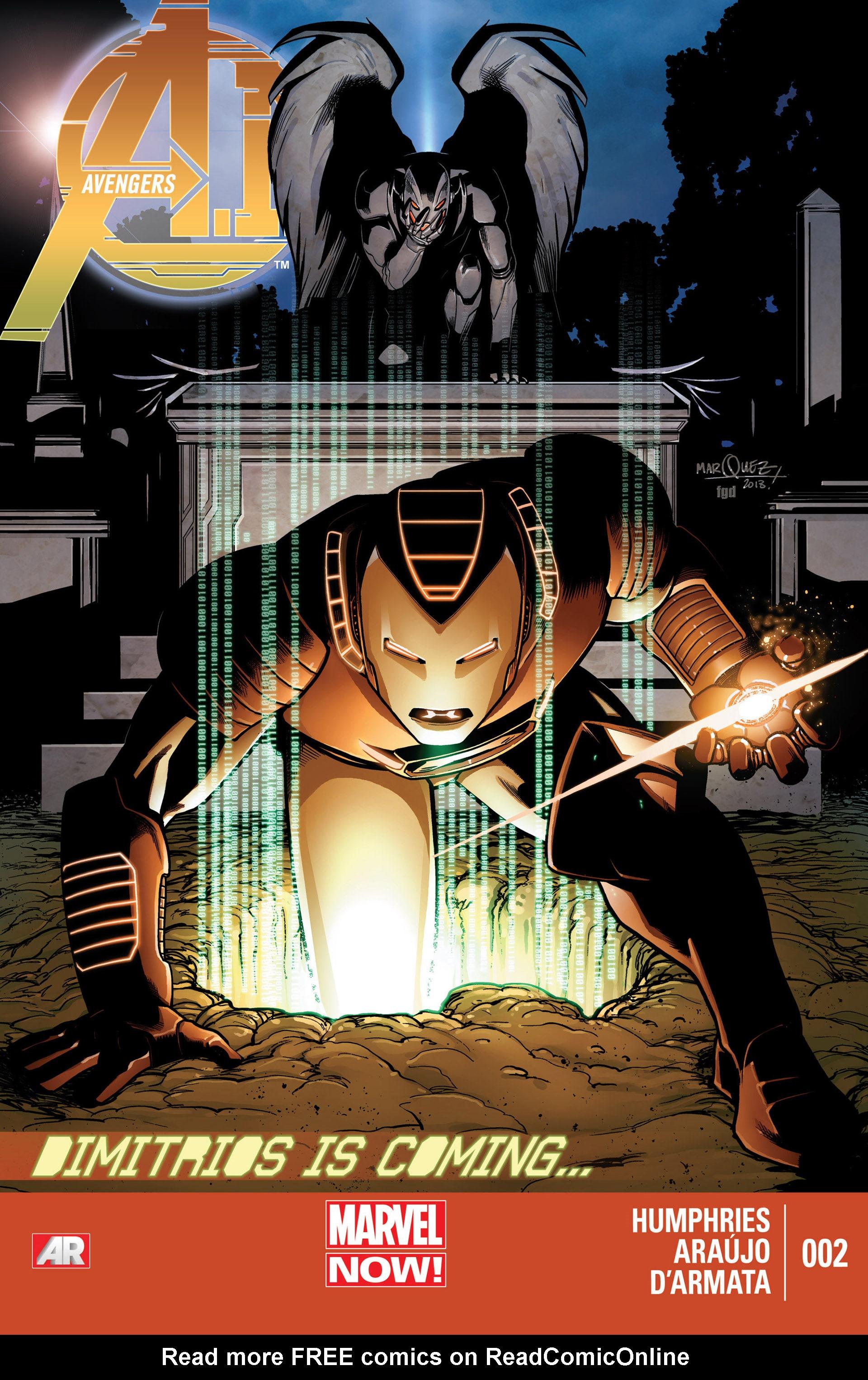 Avengers A.I. 2 Page 1
