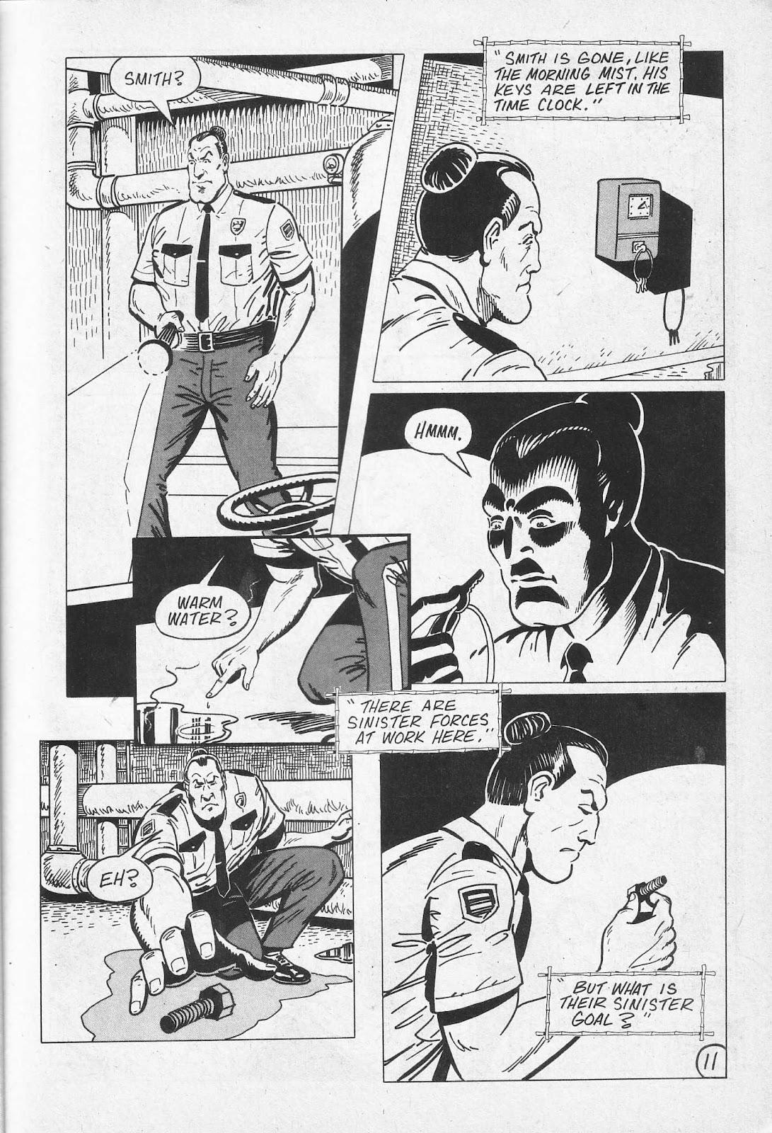 Read online Paul the Samurai (1991) comic -  Issue # TPB - 17