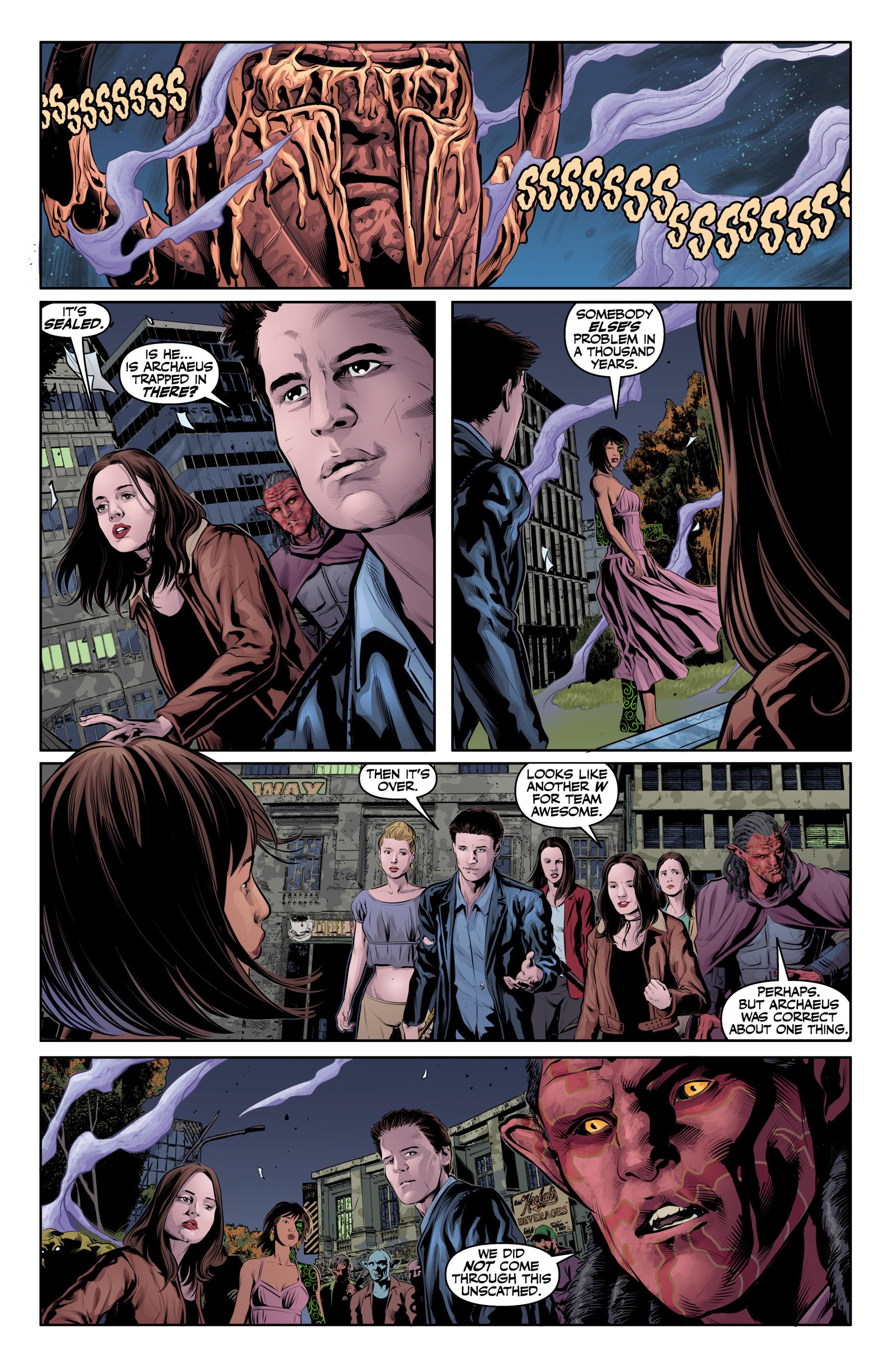 Read online Angel & Faith Season 10 comic -  Issue #25 - 16