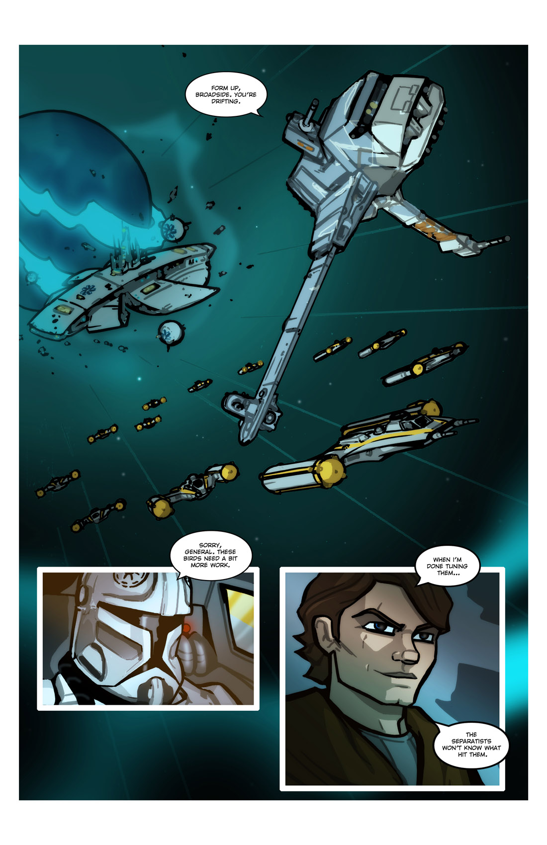 Read online Star Wars: Tales From The Clone Wars comic -  Issue # TPB - 23