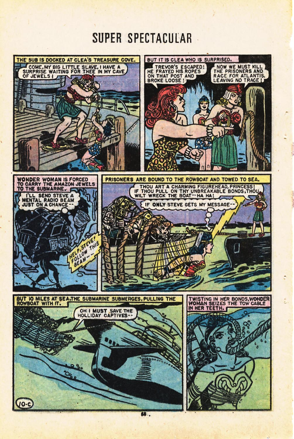 Read online Adventure Comics (1938) comic -  Issue #416 - 68