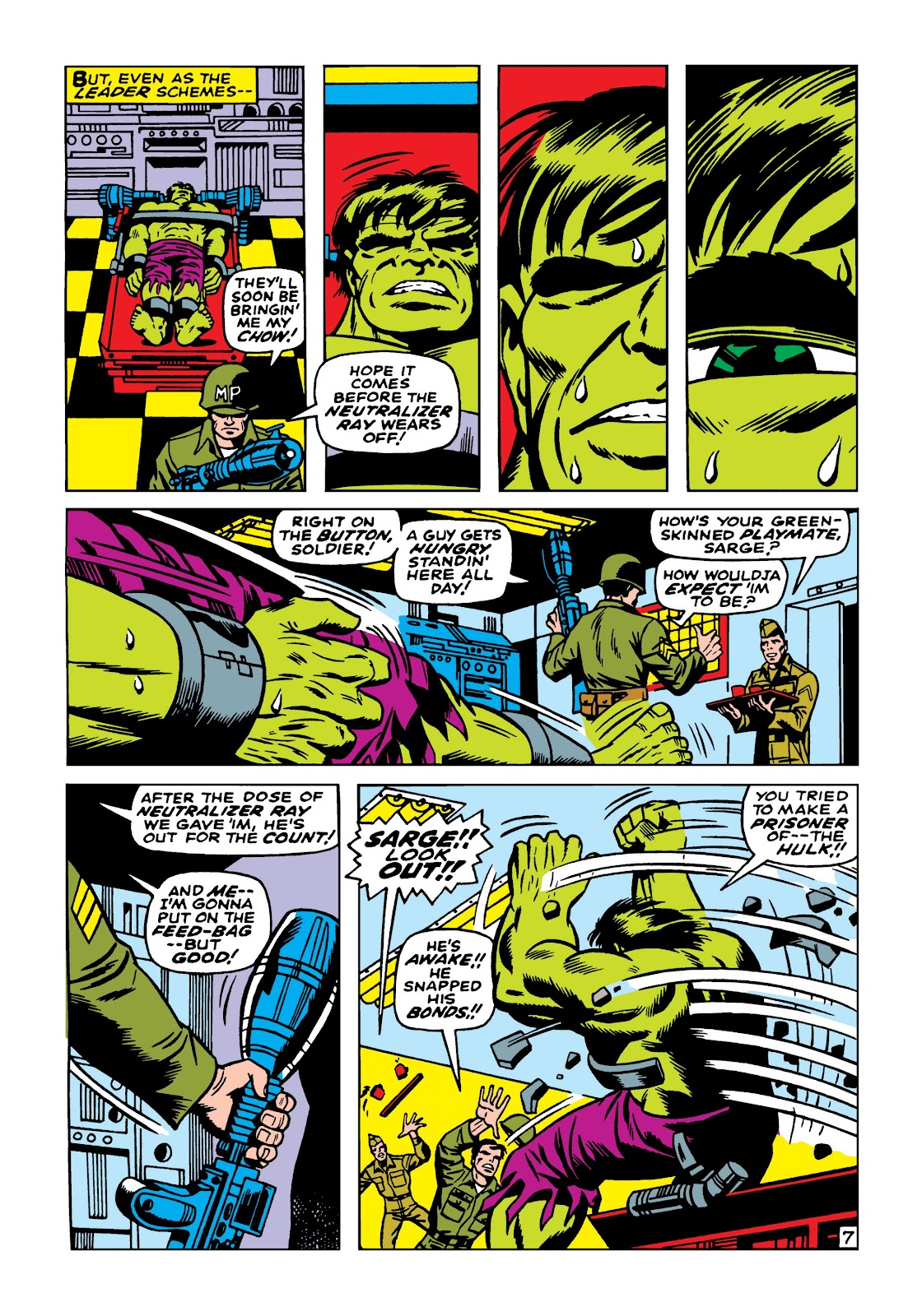 Read online Marvel Masterworks: The Incredible Hulk comic -  Issue # TPB 5 (Part 1) - 97