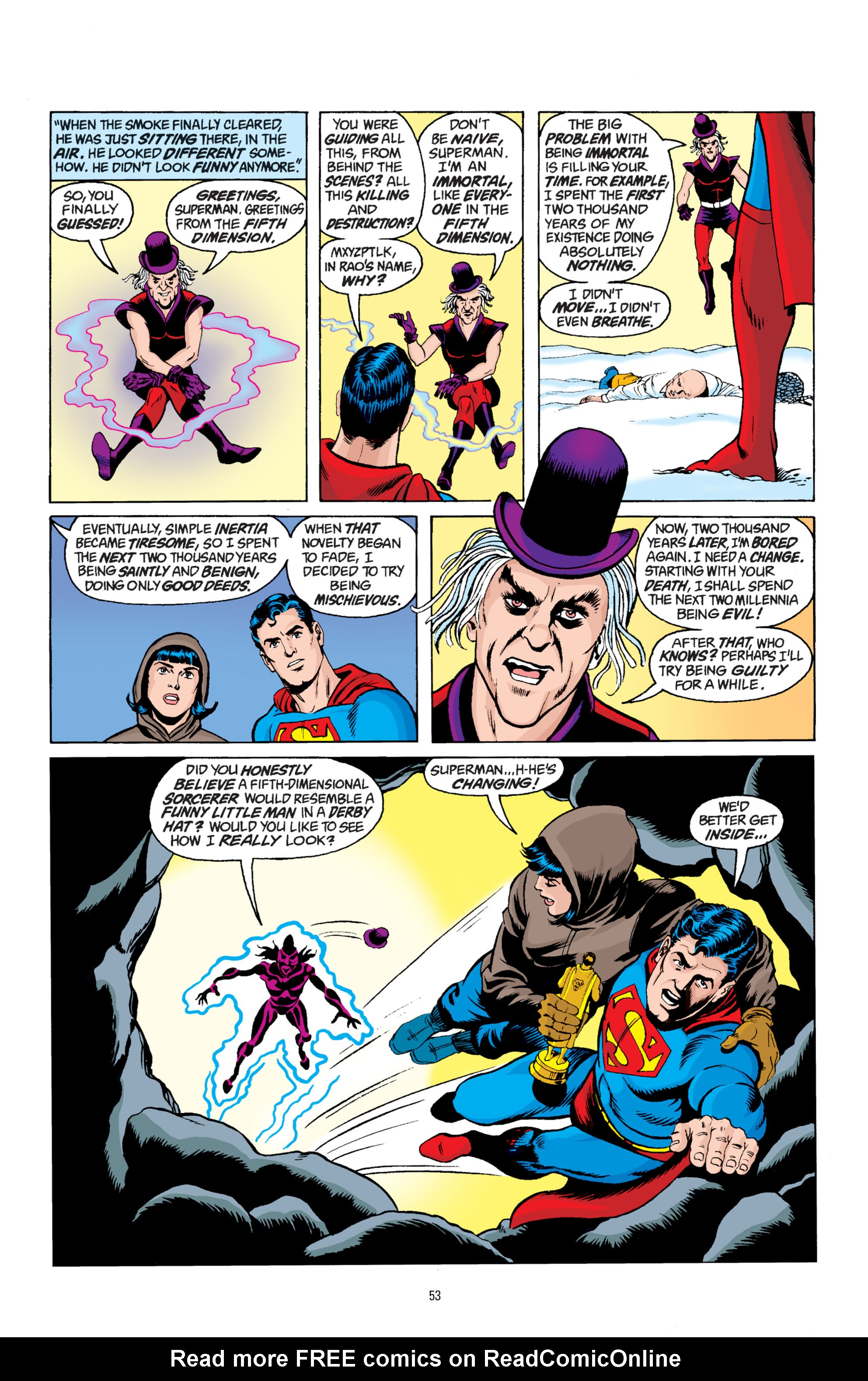 Read online Superman: Whatever Happened to the Man of Tomorrow? comic -  Issue # TPB - 52