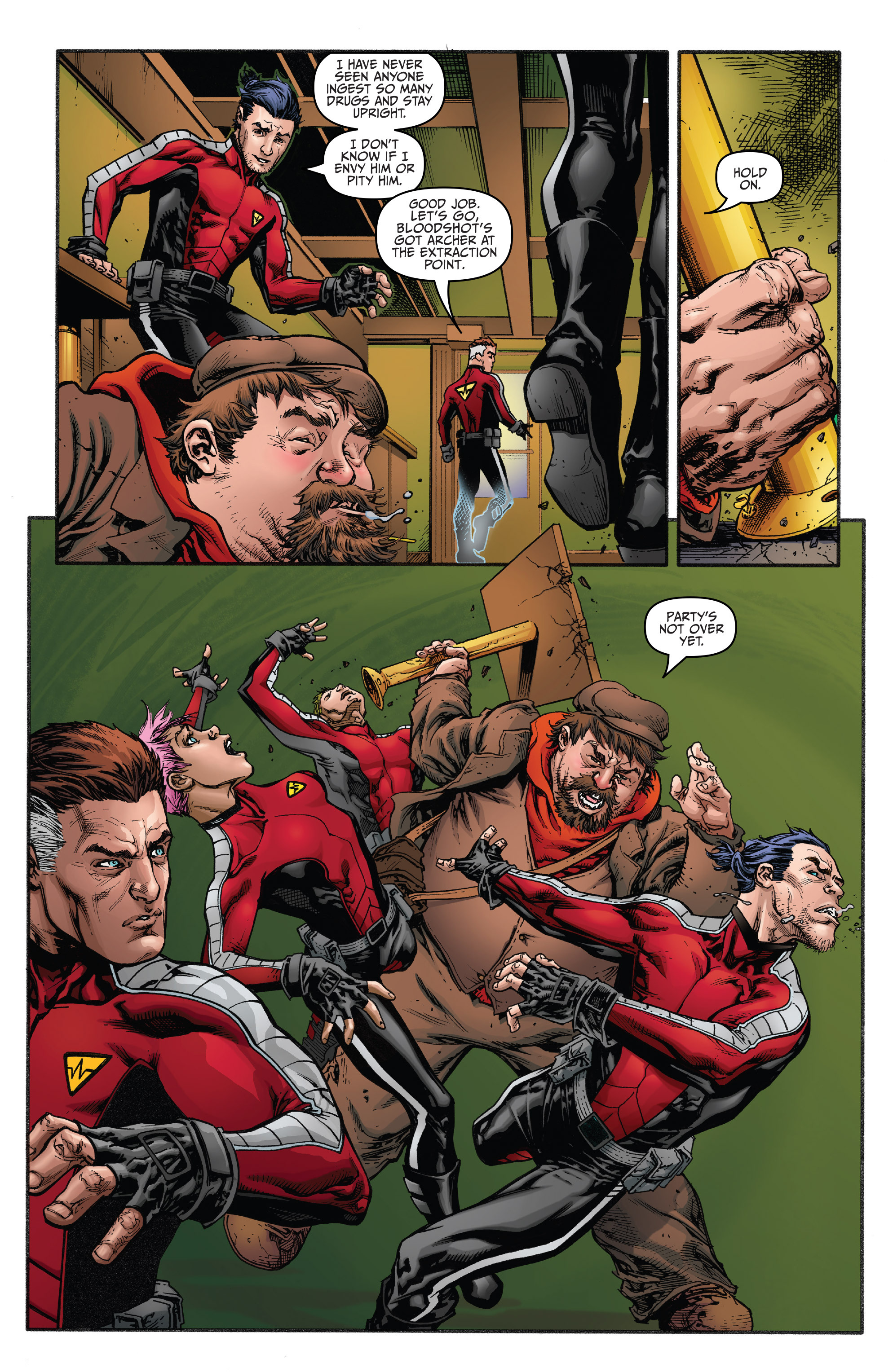 Read online Bloodshot and H.A.R.D.Corps comic -  Issue #20 - 7