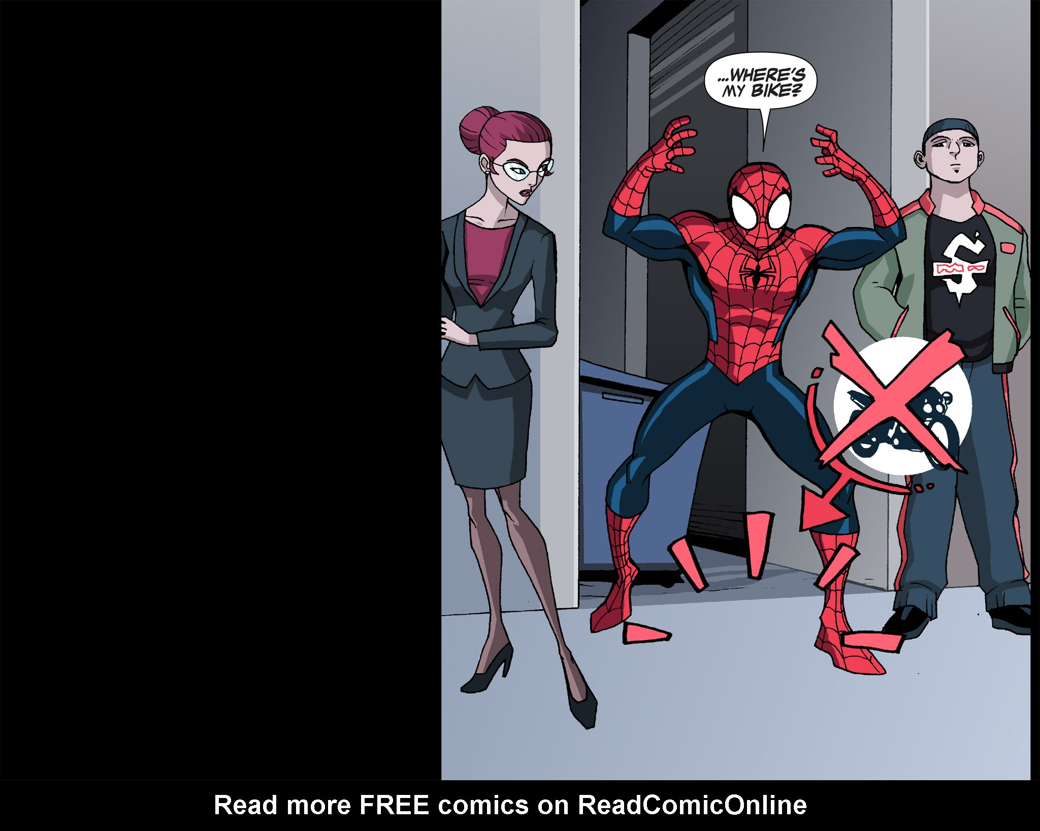 Read online Ultimate Spider-Man (Infinite Comics) (2015) comic -  Issue #12 - 34