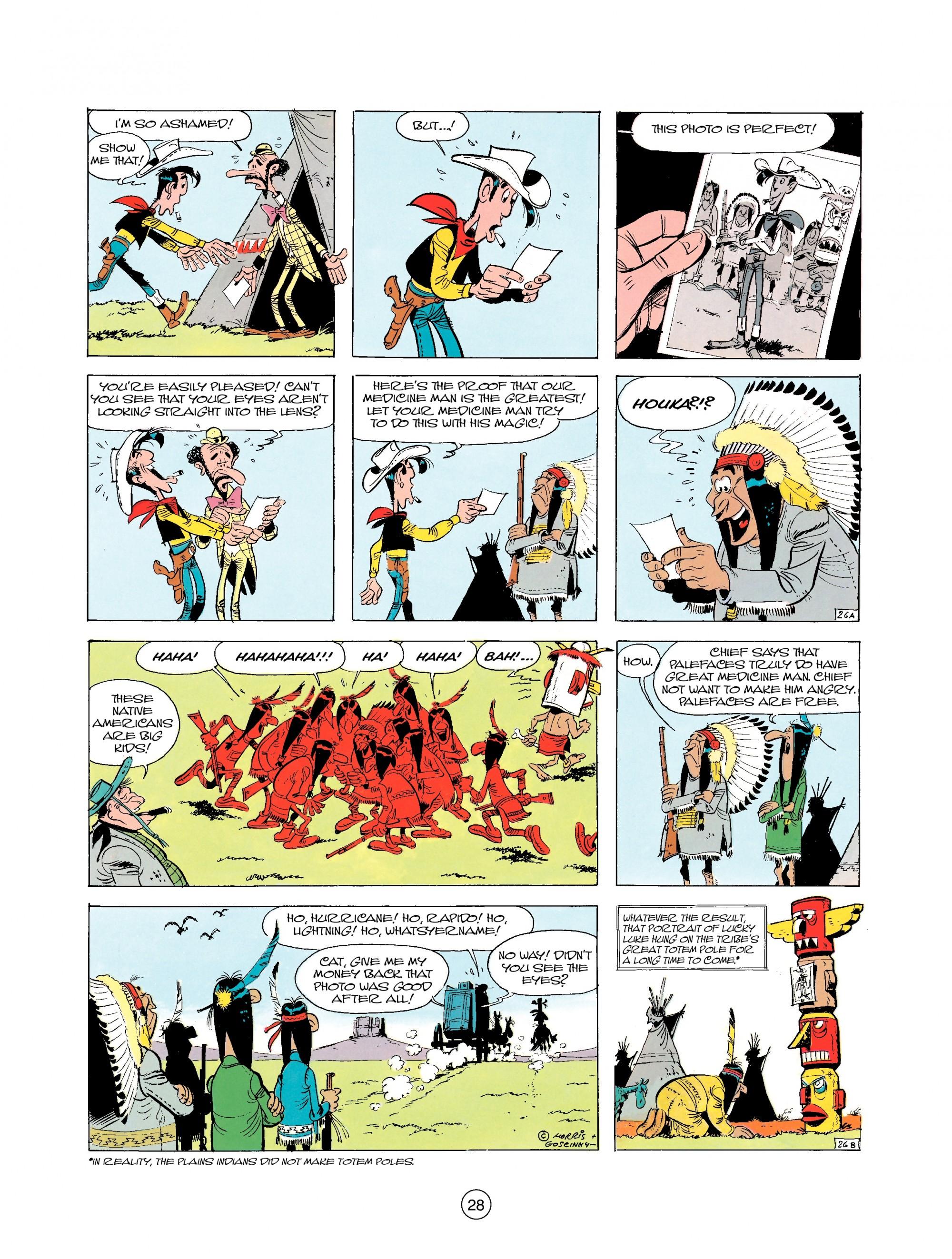 Read online A Lucky Luke Adventure comic -  Issue #25 - 28