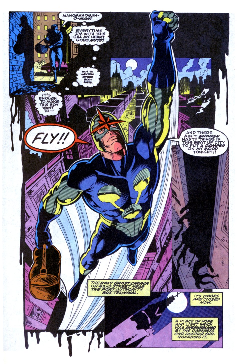 The New Warriors Issue #32 #36 - English 6