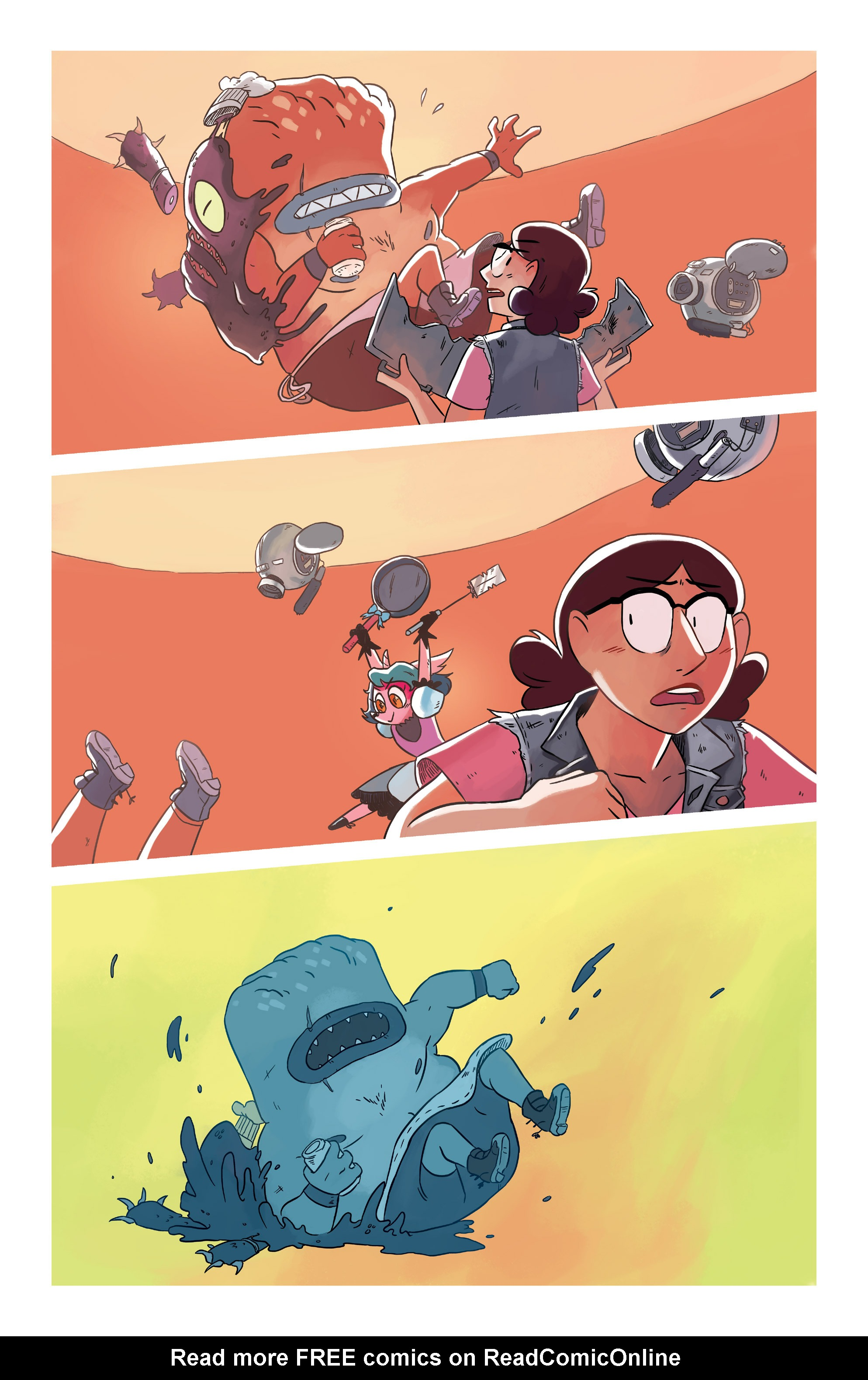 Read online Space Battle Lunchtime comic -  Issue #6 - 11