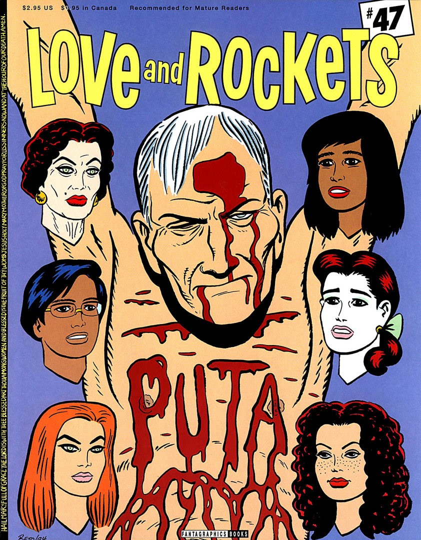 Love and Rockets (1982) issue 47 - Page 1