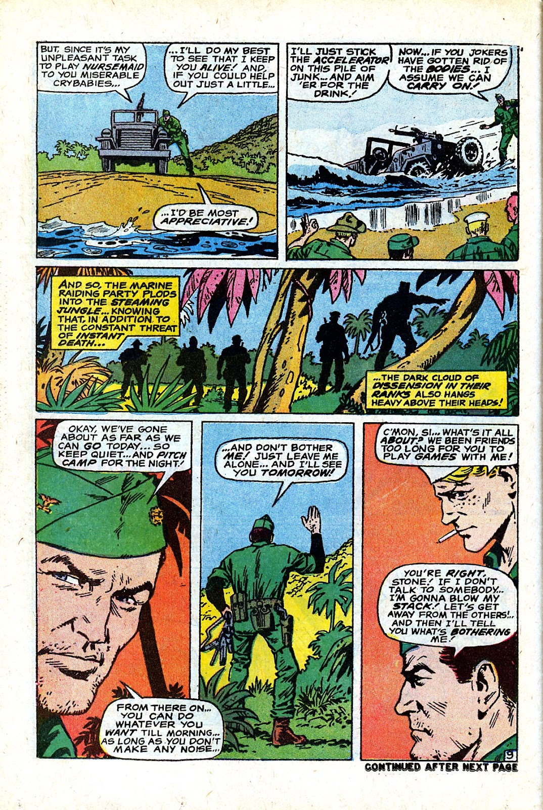 Captain Savage and his Leatherneck Raiders issue 18 - Page 14