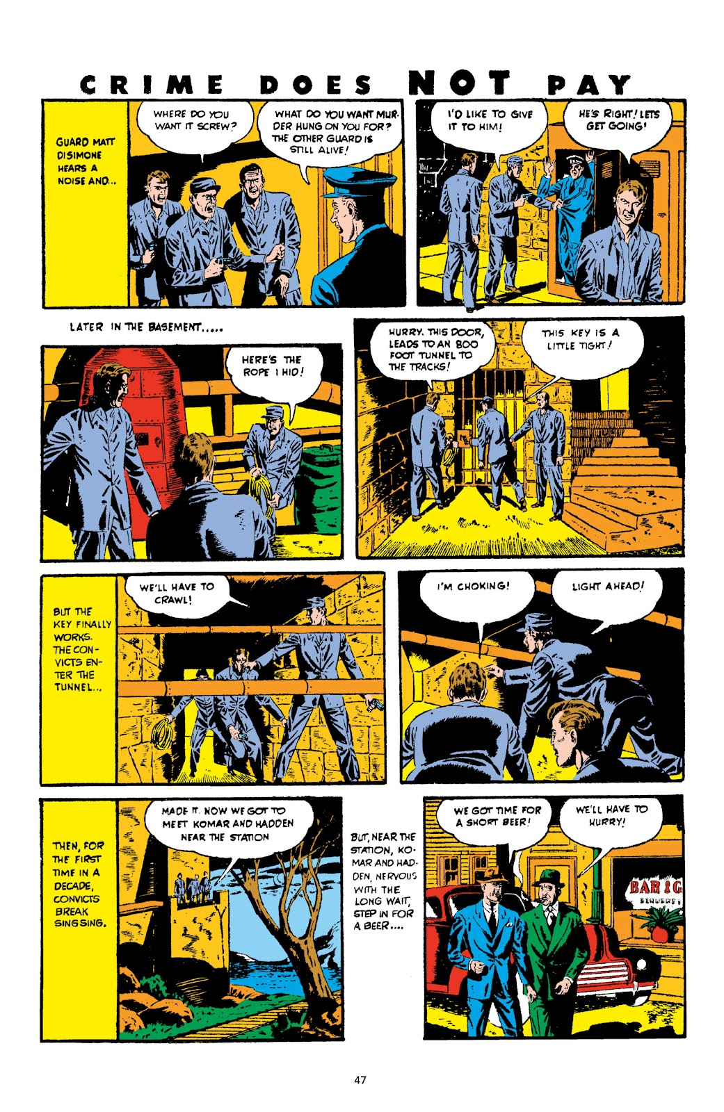 Read online Crime Does Not Pay Archives comic -  Issue # TPB 3 (Part 1) - 47