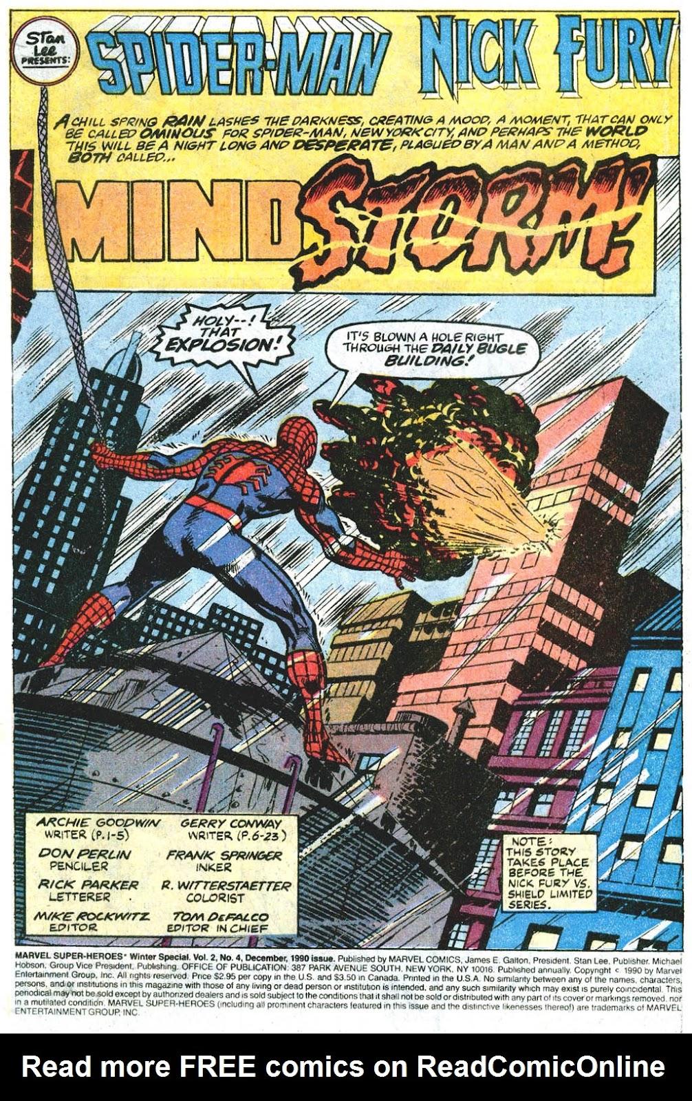 Marvel Super-Heroes (1990) 4 Page 2