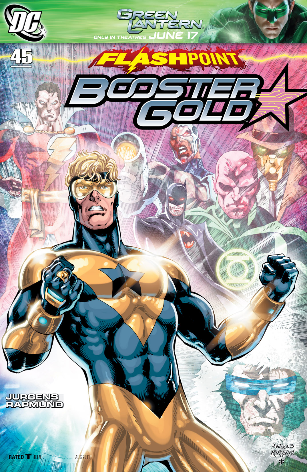 Booster Gold 2007 Issue 45