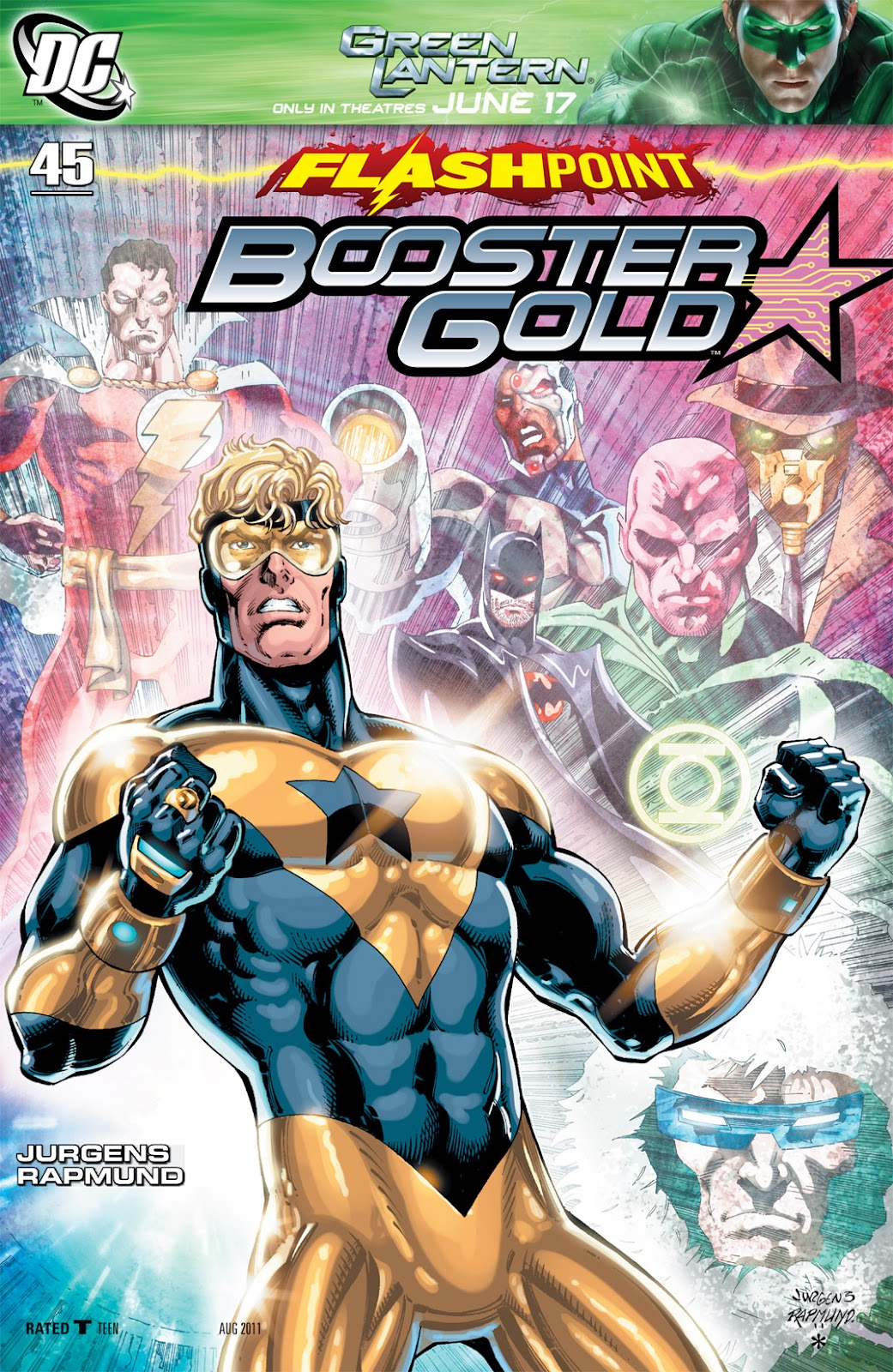 Booster Gold (2007) issue 45 - Page 1