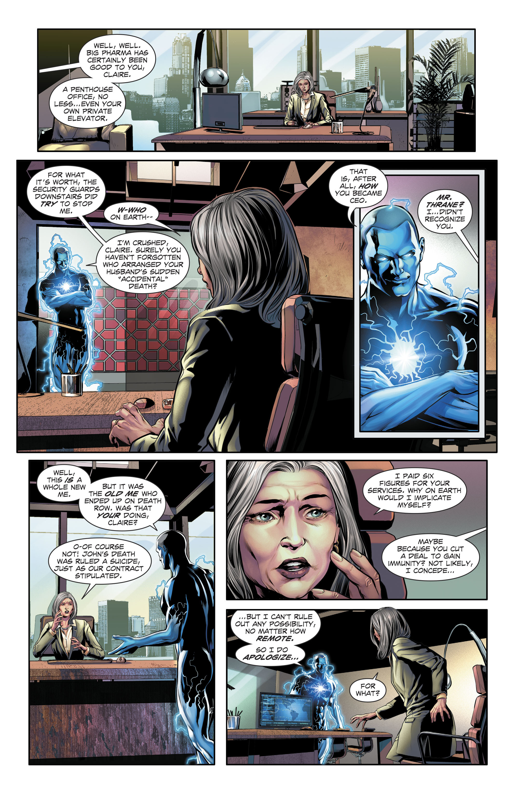 Read online The Fall and Rise of Captain Atom comic -  Issue #5 - 7