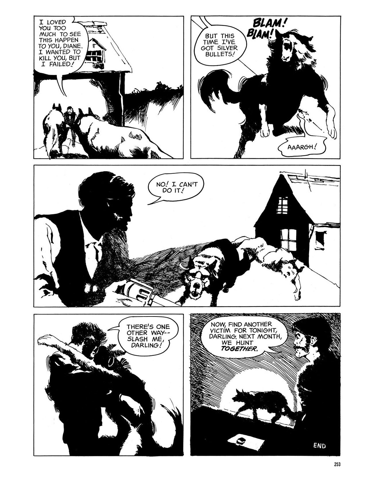 Read online Eerie Archives comic -  Issue # TPB 3 - 254