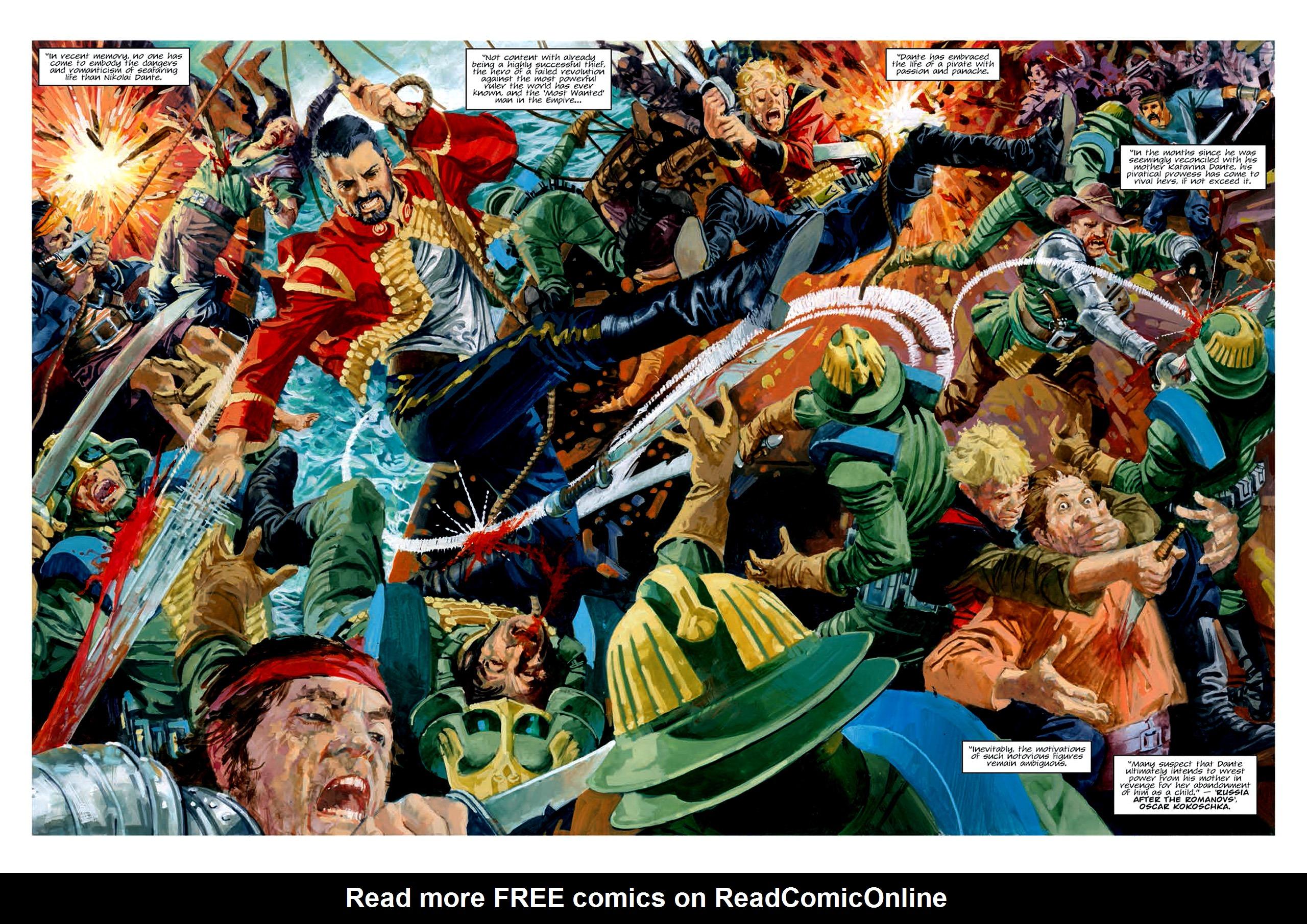 Read online Nikolai Dante comic -  Issue # TPB 6 - 146