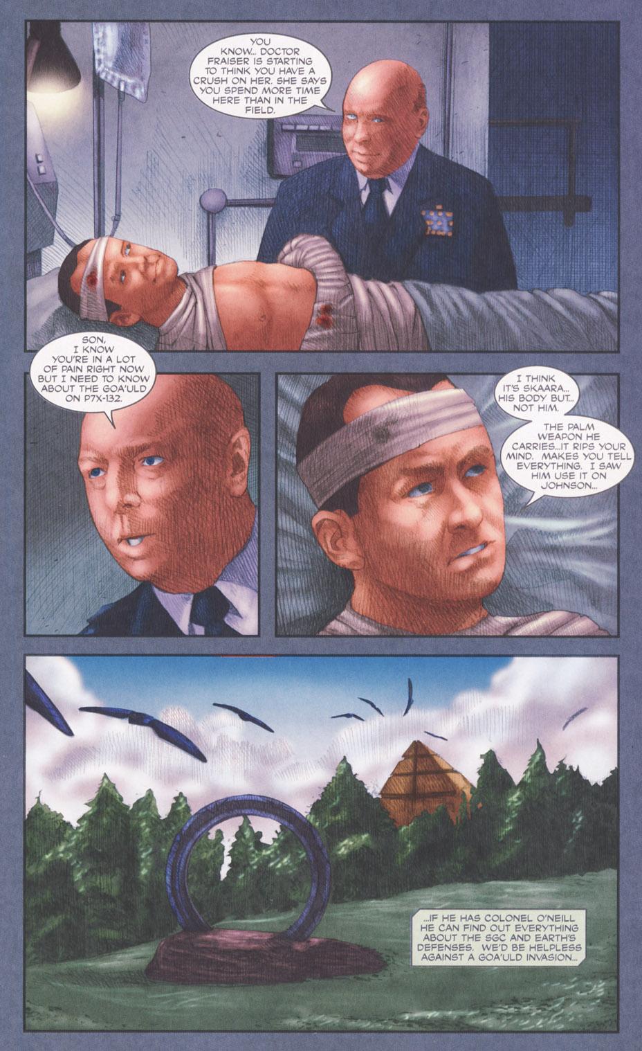 Read online Stargate SG-1: POW comic -  Issue #2 - 23