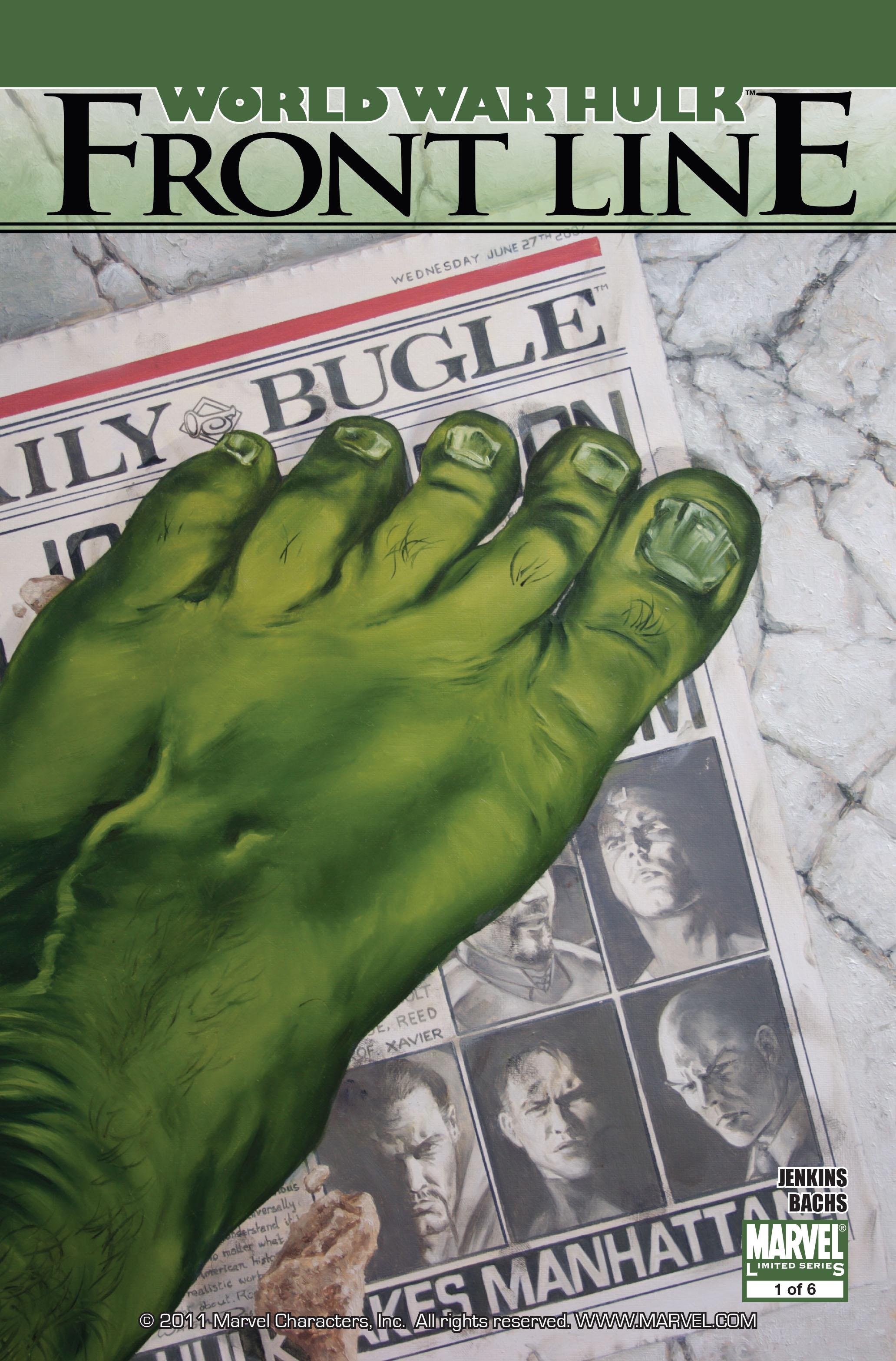 Read online World War Hulk: Front Line comic -  Issue #1 - 1
