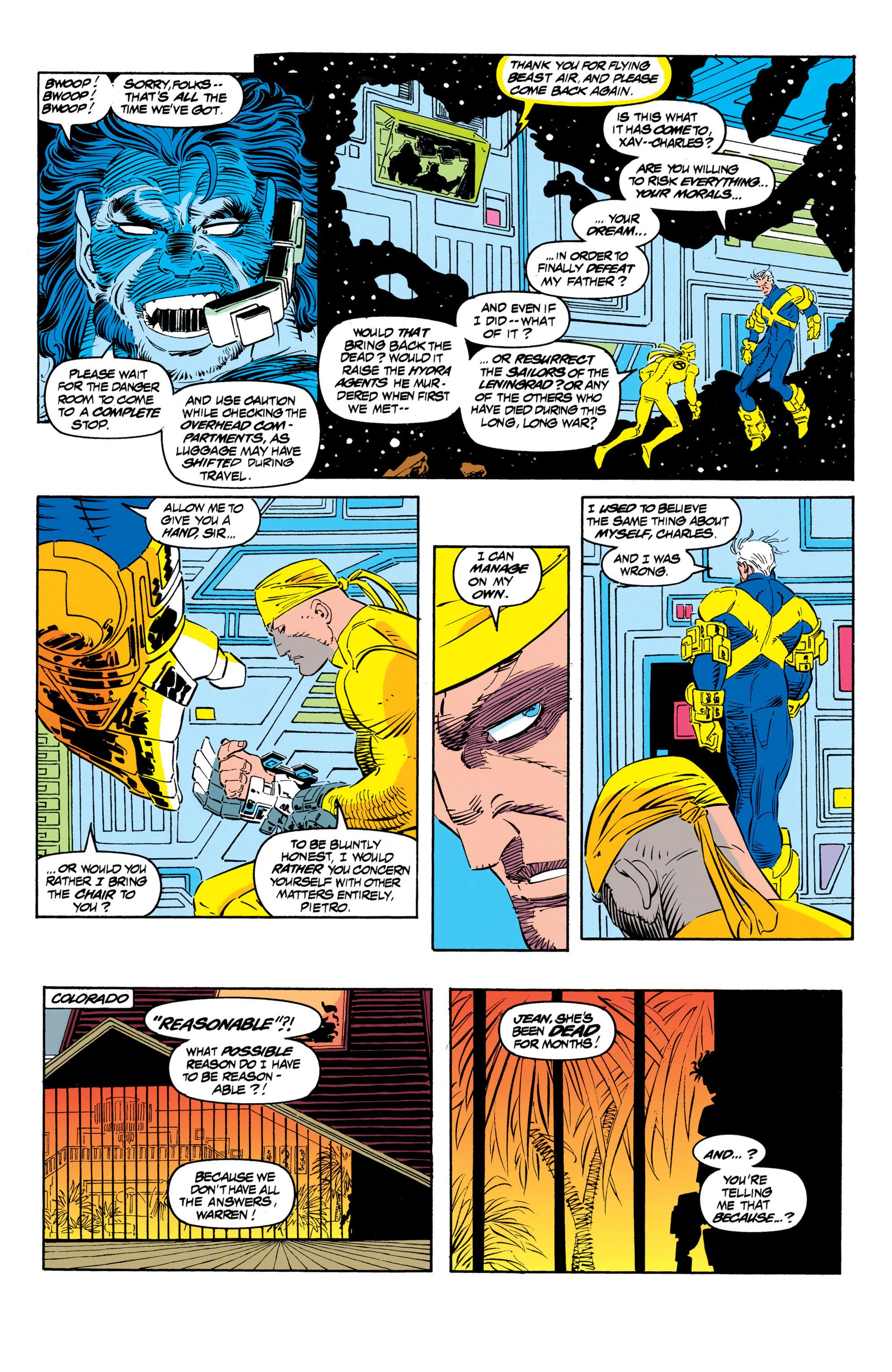 Read online Uncanny X-Men (1963) comic -  Issue #306 - 9