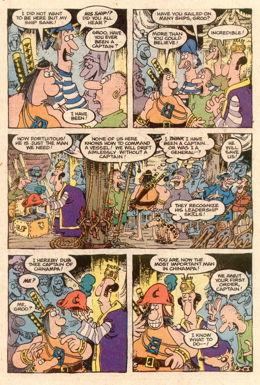 Read online Sergio Aragonés Groo the Wanderer comic -  Issue #57 - 6