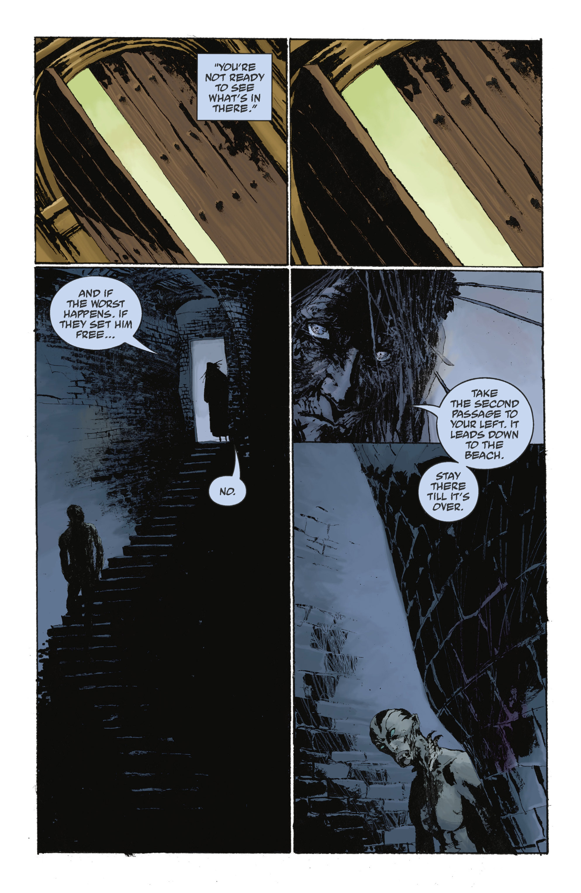 Read online Abe Sapien: The Drowning comic -  Issue #Abe Sapien: The Drowning _TPB - 108