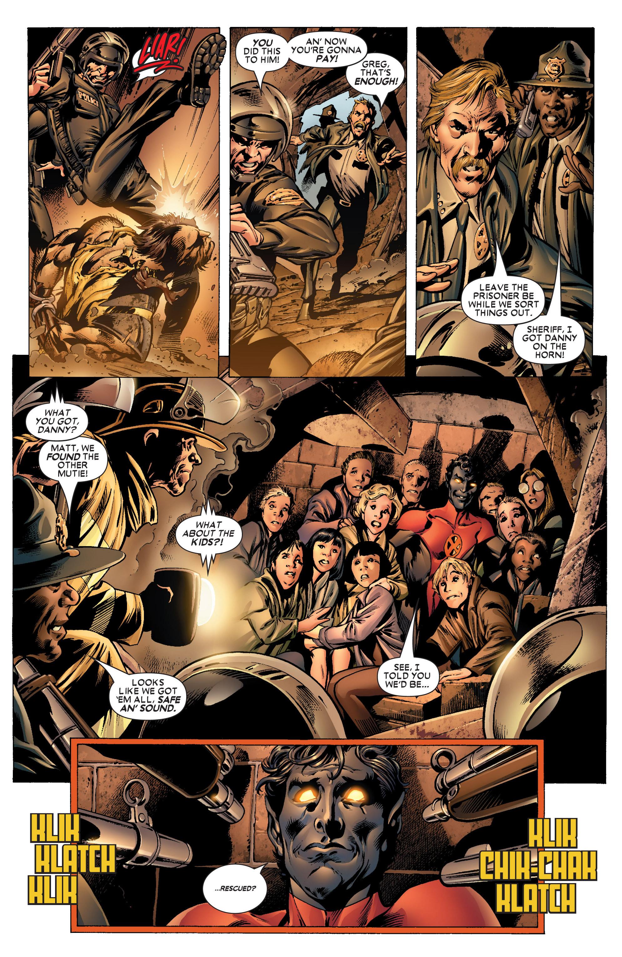 Read online Uncanny X-Men (1963) comic -  Issue #445 - 6