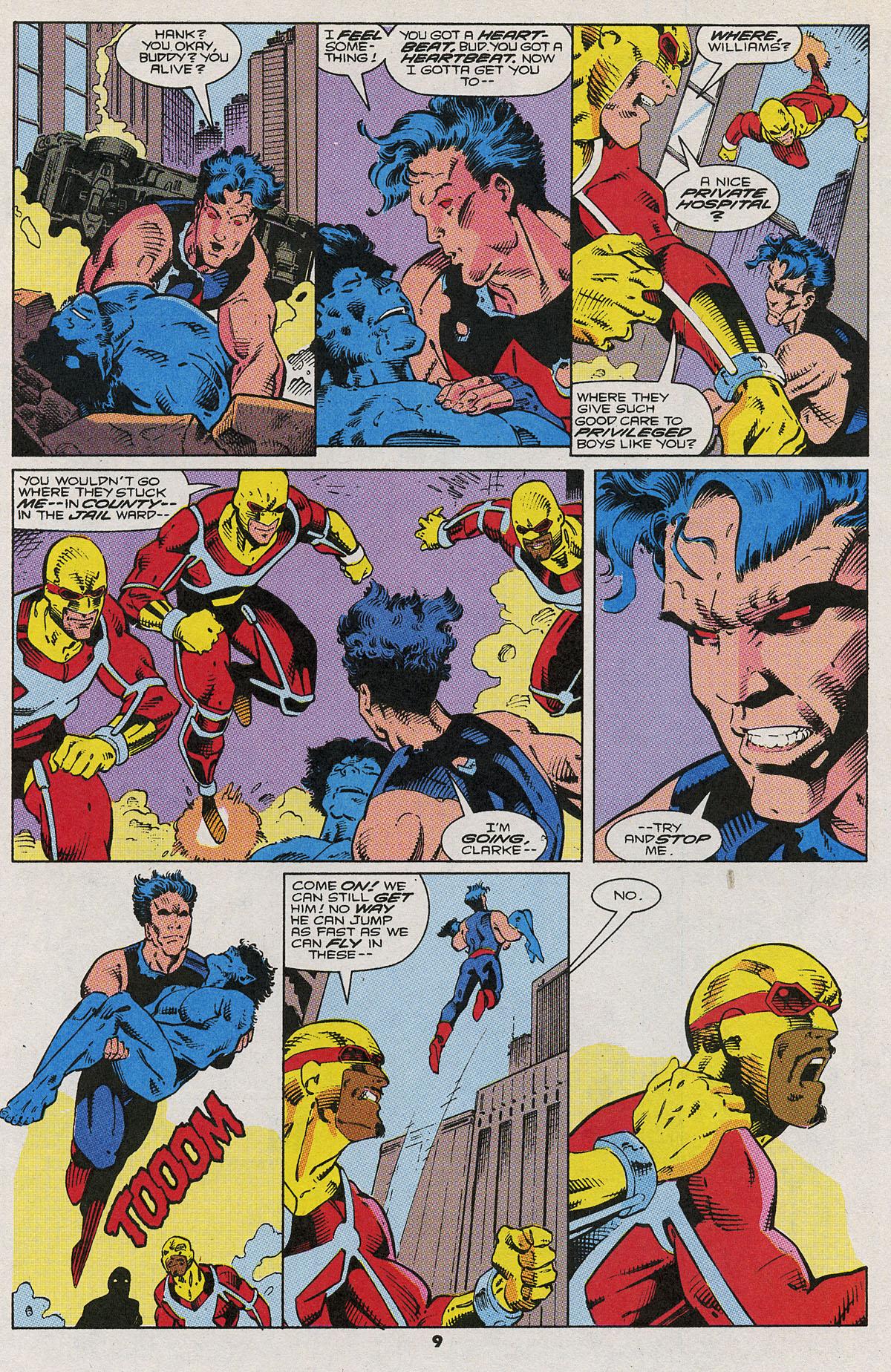 Read online Wonder Man (1991) comic -  Issue #6 - 8