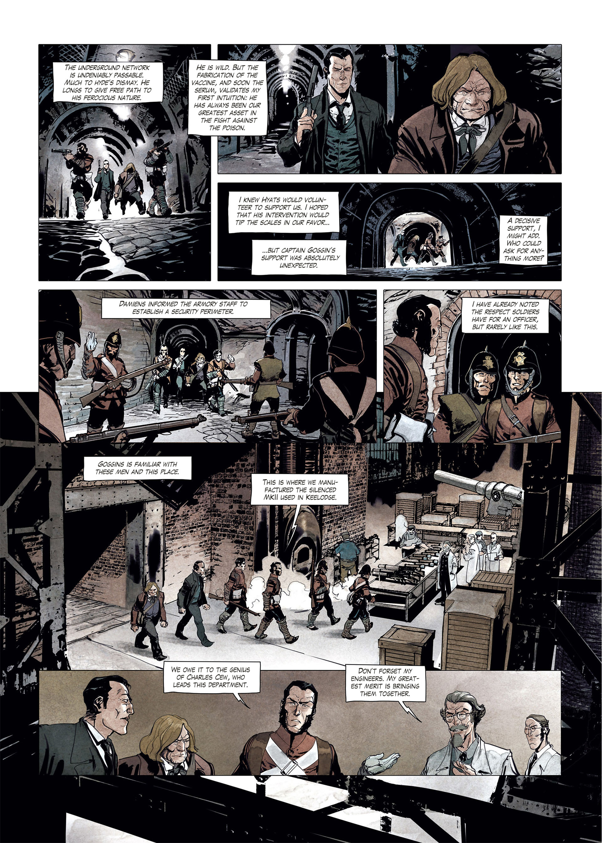 Read online Sherlock Holmes Society Tome 4 : Contamination comic -  Issue # Full - 28