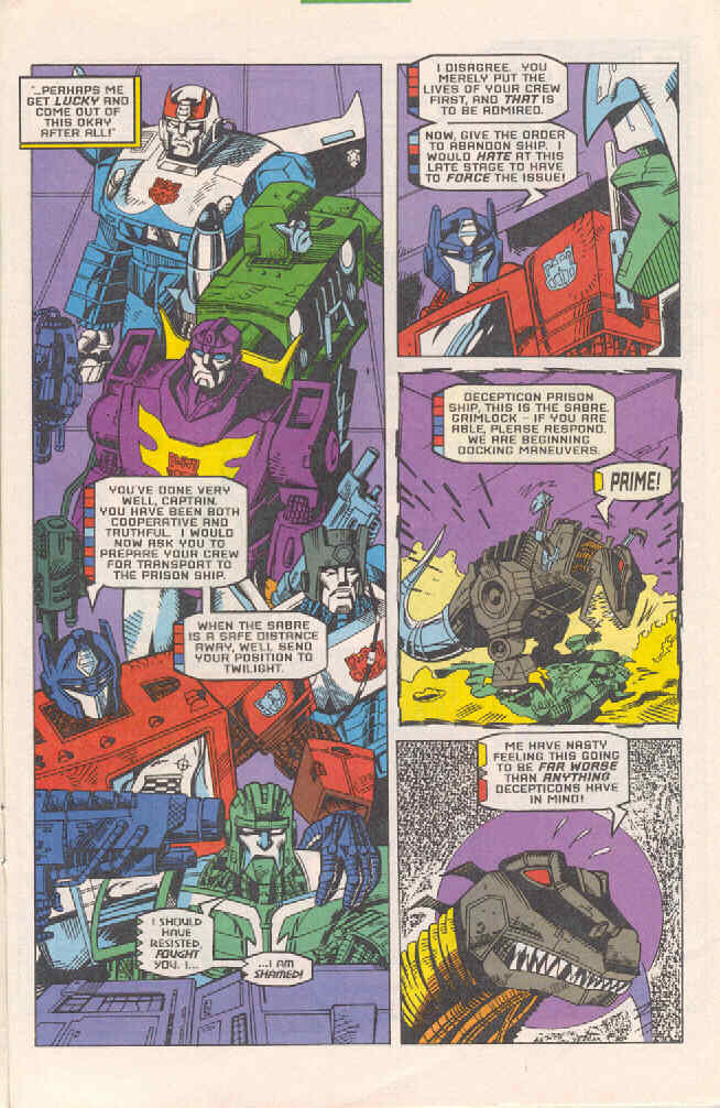 Read online Transformers: Generation 2 comic -  Issue #4 - 17
