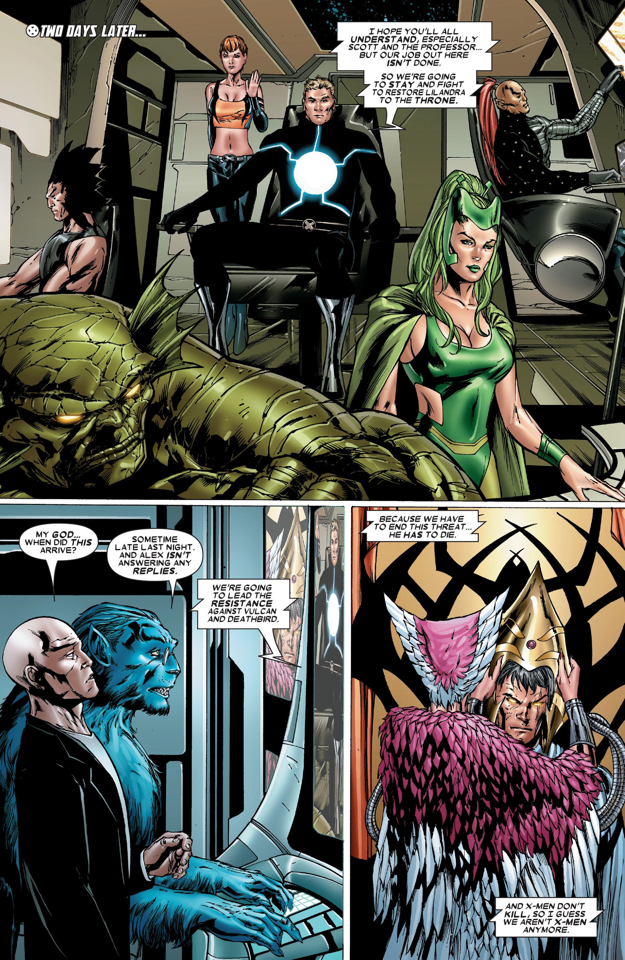 Read online Uncanny X-Men (1963) comic -  Issue #486 - 24