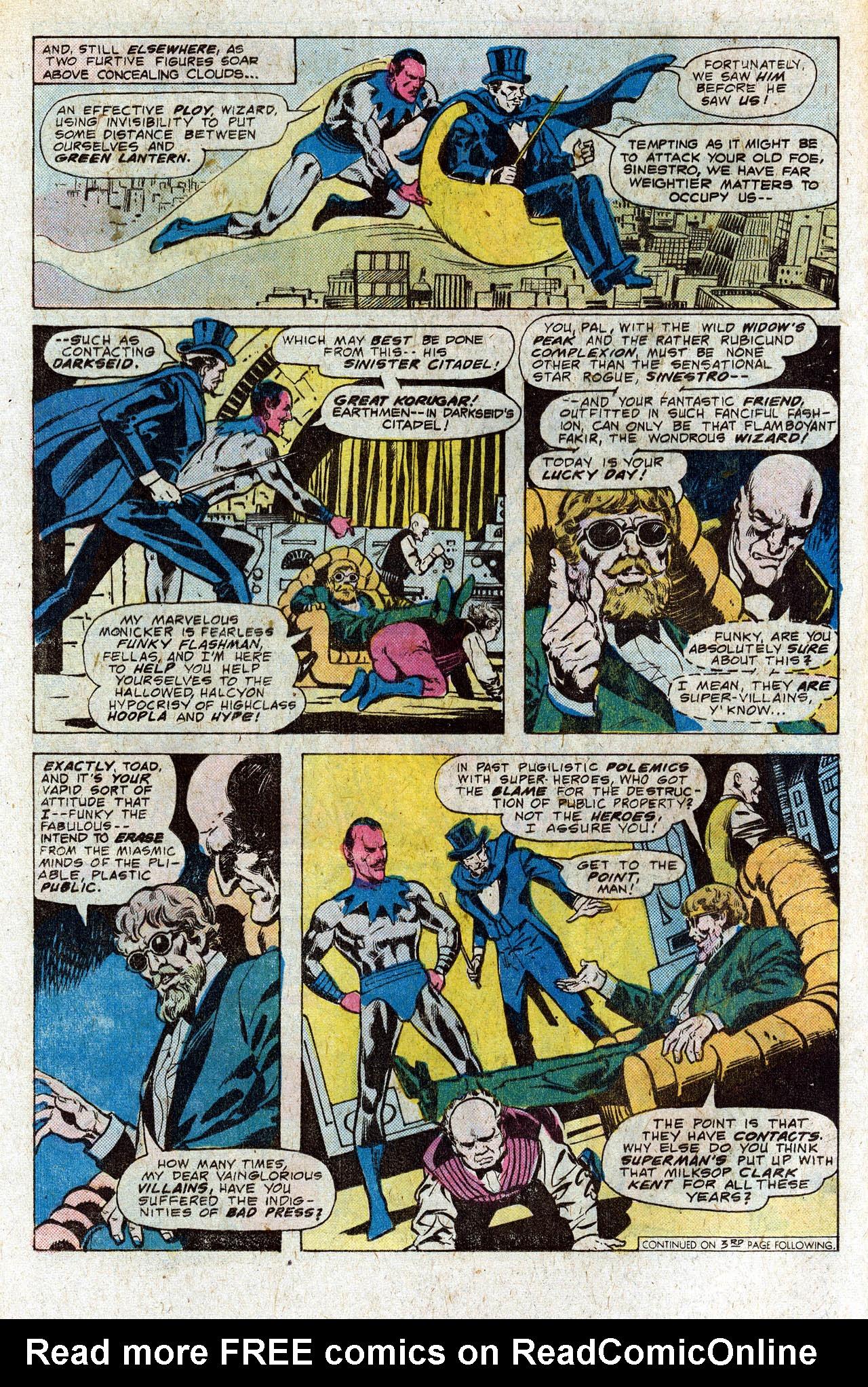 Read online Secret Society of Super-Villains comic -  Issue #4 - 12