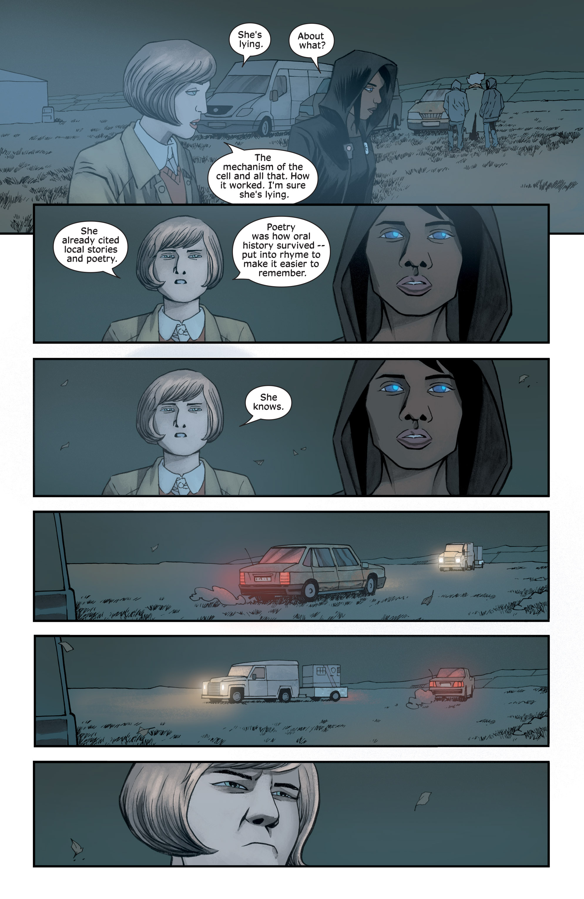 Read online Injection comic -  Issue #13 - 10