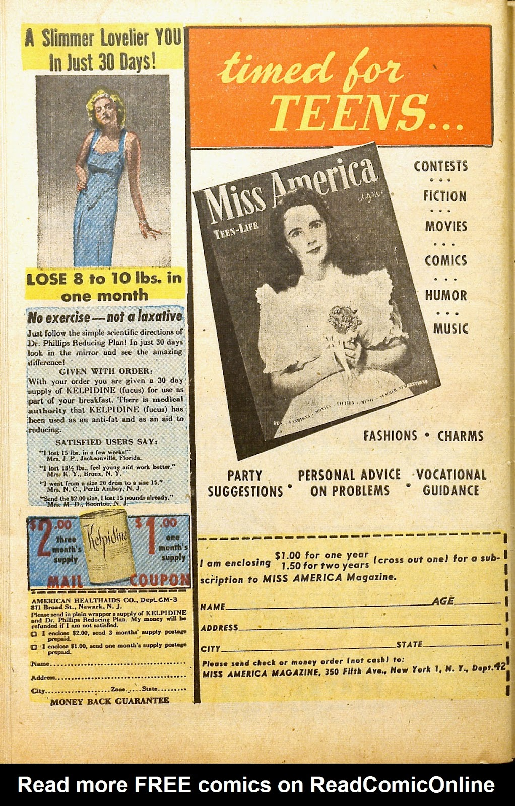 Read online Millie the Model comic -  Issue #2 - 50