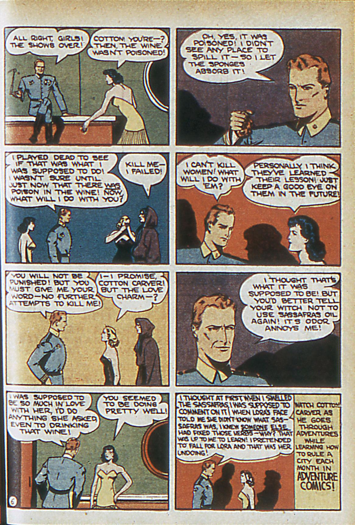 Read online Adventure Comics (1938) comic -  Issue #63 - 54