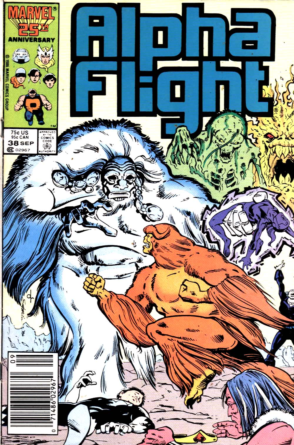 Read online Alpha Flight (1983) comic -  Issue #38 - 1