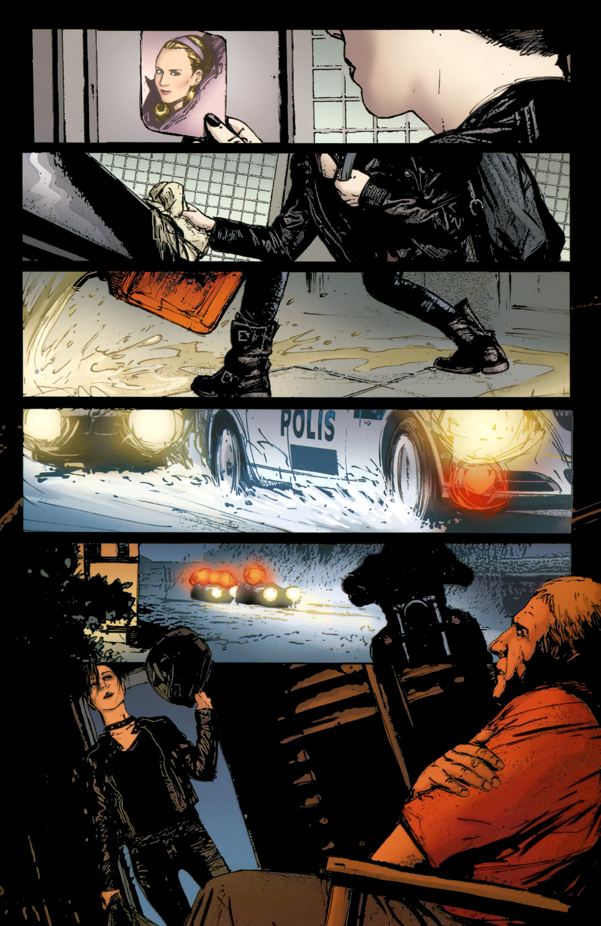 Read online The Girl With the Dragon Tattoo comic -  Issue # TPB 2 - 113