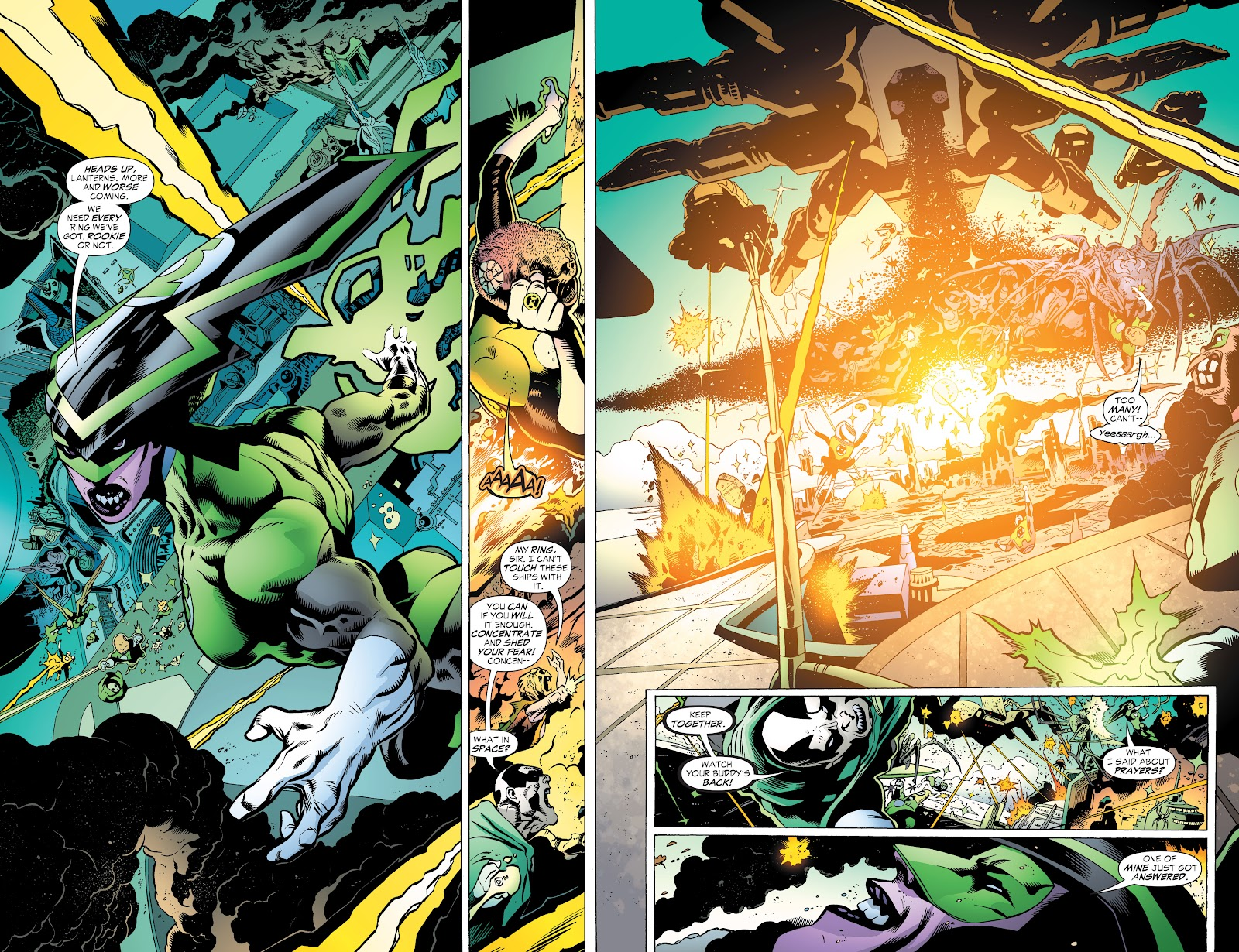 Read online Green Lantern by Geoff Johns comic -  Issue # TPB 1 (Part 3) - 76