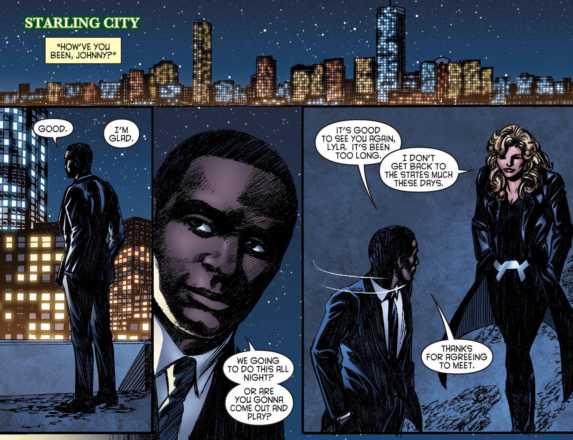Read online Arrow [II] comic -  Issue #25 - 3
