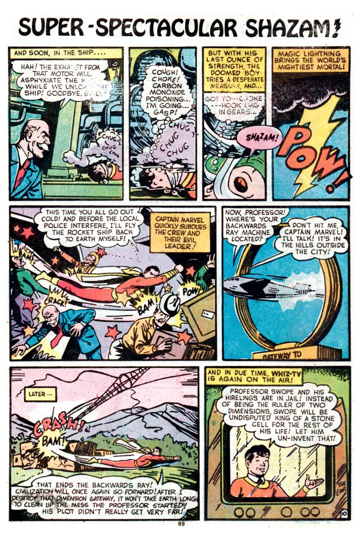 Read online Shazam! (1973) comic -  Issue #15 - 88