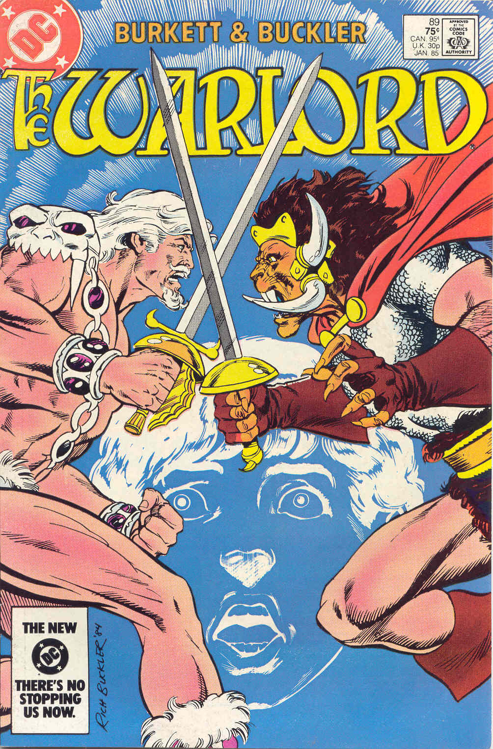 Warlord (1976) 89 Page 1