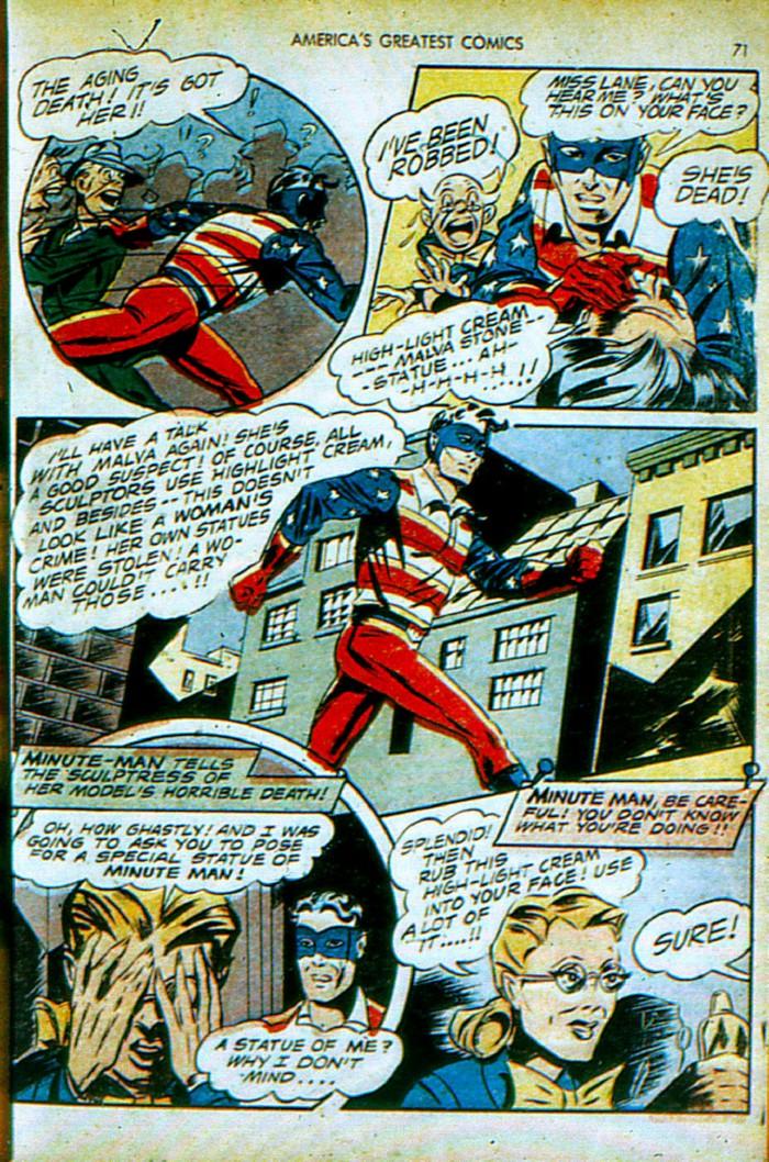 Read online America's Greatest Comics comic -  Issue #4 - 72