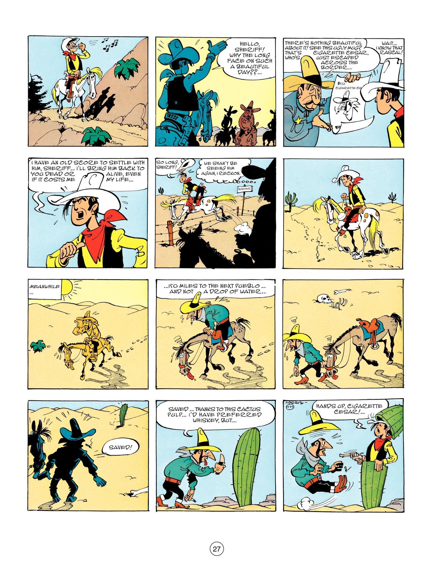 Read online A Lucky Luke Adventure comic -  Issue #55 - 27