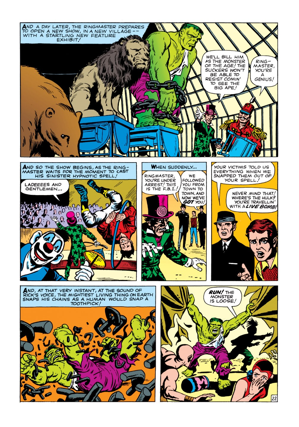 Read online Marvel Masterworks: The Incredible Hulk comic -  Issue # TPB 1 (Part 1) - 75